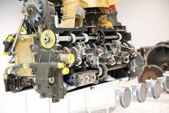 Porsche-motor Royalty-vrije Stock Afbeeldingen