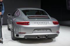 Porsche 911 nya Carrera - världspremiär Royaltyfri Bild