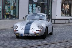 Porsche 356 90 oldtimer car at the Fuggerstadt Classic 2017 Oldt Stock Photo