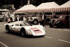 Porsche 906 på Bergamo den historiska granda prixen 2015 Arkivfoto