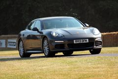 Porsche Panamera Fotografia Stock