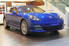 Porsche panamera 4s Royalty Free Stock Images