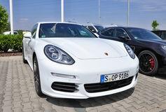 Porsche Panamera Στοκ Εικόνες