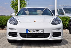 Porsche Panamera Στοκ φωτογραφία με δικαίωμα ελεύθερης χρήσης