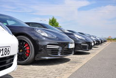 Porsche Panamera cars Stock Image