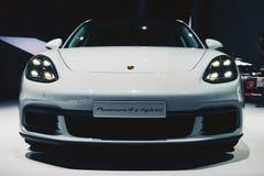 Porsche Panamera 4 e-bland 2017 Royaltyfria Bilder