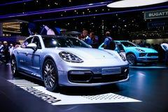 Porsche 971 Panamera GTS fotos de stock royalty free