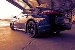 Porsche Panamera pour le VIP Image libre de droits