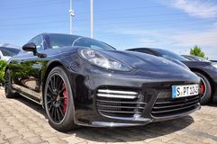 Porsche Panamera Royalty Free Stock Photo
