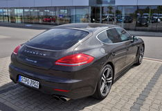 Porsche Panamera Stock Image