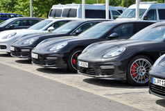 Porsche Panamera Royalty Free Stock Images