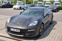 Porsche Panamera Royalty Free Stock Image