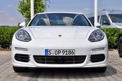 Porsche Panamera Royalty Free Stock Photography
