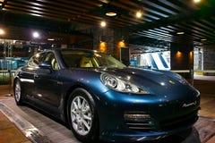 Porsche panamera-s Stock Photo