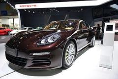 Porsche Panamera S E-Hybrid sportscar Royalty Free Stock Image