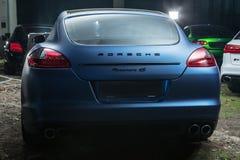 Porsche Panamera 4S trimma Arkivfoto