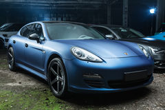 Porsche Panamera 4S tuning Stock Images
