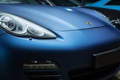 Porsche Panamera 4S tuning Royalty Free Stock Photo