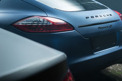 Porsche Panamera 4S tuning Royalty Free Stock Image
