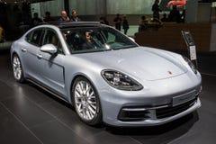 2018 Porsche Panamera 4 sportów samochód Obraz Royalty Free
