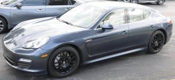 Porsche Panamera Sports Car Stock Photography