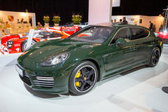 Porsche Panamera Turbo Stock Photo