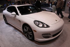 Porsche Paramera 4. Chicago auto show February 2011 Stock Photography