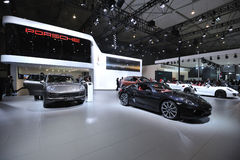 Porsche pavilion Royalty Free Stock Image