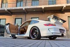 Porsche personnalisé 911, Pékin, Chine image libre de droits