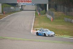 Porsche 911 prov GT3 2016 på Monza Arkivbilder