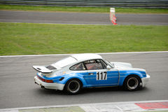 Porsche 911 3 (0) przy Monza Obrazy Stock