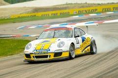 Porsche puncture Stock Photos