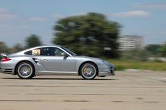 Porsche on a race Stock Images