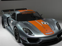 Porsche race car Stock Photography