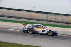PORSCHE 997 racerbil GT3 Royaltyfri Bild