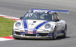 Porsche racing Royalty Free Stock Photo
