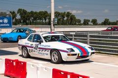 Porsche 924 racing car Royalty Free Stock Photos