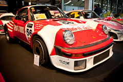 Porsche racing car on display Royalty Free Stock Photo