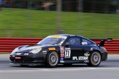 Porsche 911 racing Royalty Free Stock Photo