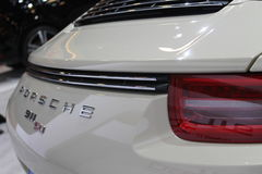Porsche 911 anniversary model rear close up detail Stock Photography