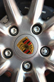 Porsche Rim Wheel Stock Photography