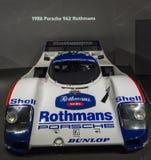 1986 Porsche 962 rothmans Στοκ φωτογραφίες με δικαίωμα ελεύθερης χρήσης