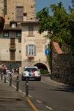 Porsche 911 RS på Bergamo den historiska granda prixen 2017 Royaltyfri Bild