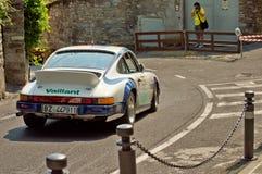 Porsche 911 RS på Bergamo den historiska granda prixen 2017 Arkivbilder