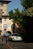 Porsche 911 RS på Bergamo den historiska granda prixen 2017 Royaltyfri Fotografi