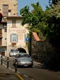 Porsche 911 RS på Bergamo den historiska granda prixen 2017 Fotografering för Bildbyråer