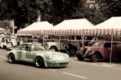 Porsche 911 RSR at Bergamo Historic Grand Prix 2015 Royalty Free Stock Photos