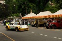 Porsche 911 RSR at Bergamo Historic Grand Prix 2015 Royalty Free Stock Image