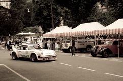 Porsche 911 RSR at Bergamo Historic Grand Prix 2015 Royalty Free Stock Photo