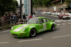 Porsche 911 RSR at Bergamo Historic Grand Prix 2015 Royalty Free Stock Images